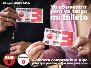 ¡Comparte entre tus contactos que no van a poder ir a Madrid para que sepan que pueden comprar el billete cero!