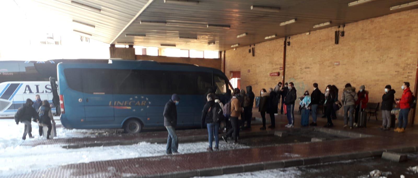 Reclamacion servicio autobuses