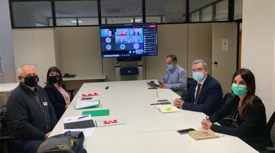 Reunión Coordinadora España Vaciada Reto Demográfico